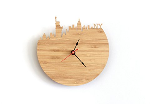Longless wandklok, woonkamer, kantoor, klok, demping 30 cm