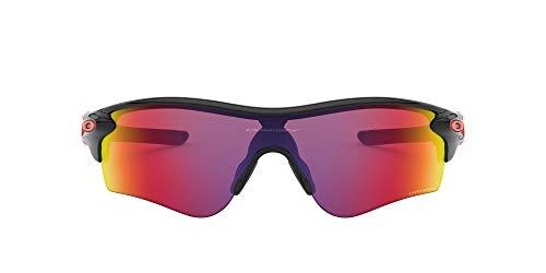 Oakley RADARLOCK Path (A) 9206 Gafas, POLISHED BLACK/PRIZMROAD, 38 Hombres