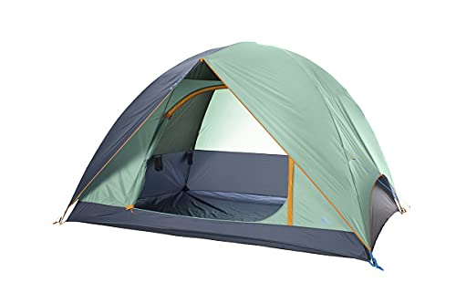 Kelty Tallboy Tent, Tall Dome Tent with Standing Headroom, Open-Plan Interior, X-Pole Construction &...