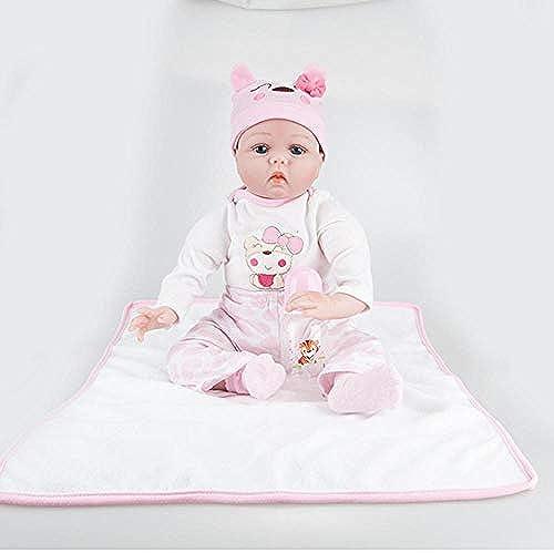 Hongge Reborn Baby Doll,Baby Silikon Reborn Baby 55cm