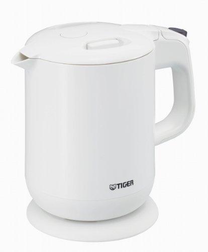 タイガー 電気ケトル 「わく子」 800ml ホワイト PCG-A080-W