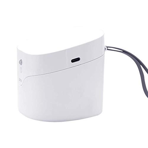 UV Sterilizer Box, 2W / 4 LED lamp kralen Efficiënte sterilisatie Cleaner Desinfector, USB Oplaadbaar, Snelle desinfectie in 59s 99% gereinigd, voor Pacifiers Smart horloges Hoofdtelefoon Sleutels Stofmasker