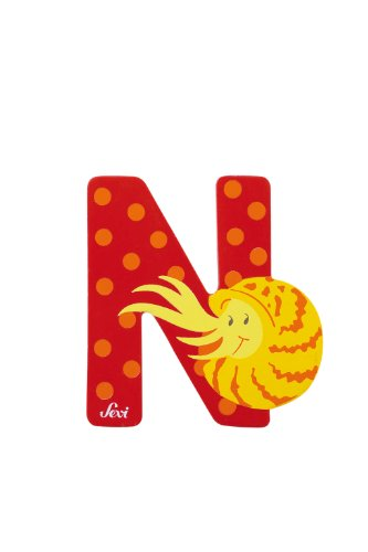 Trudi 81614 - Sevi Tierbuchstabe Nautilus rot