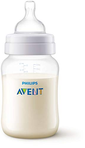 Philips Avent SCF813/17 - Biberón Anti-colic de 260 ml, transparente
