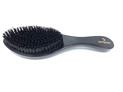 WVYSZN Premium Hard Wave Brush F-117 | Curve Designed perfect for Wolfing | Designed For Long Lasting and Consistent Waves | Get 360 Waves Faster with WVYSZN