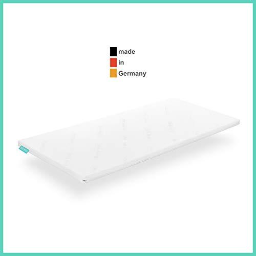 Snooze Project - Gel-Schaum Topper Matratzen-Auflage - 5cm Höhe - Extra Weich - Visco-Schaum RG 50 Schaumstoff - Allergiker-geeignet und Öko-Tex 100 zertifiziert Größe 150x210