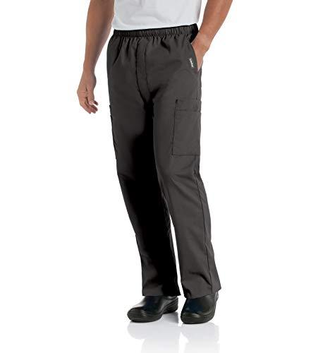 Landau mens Comfort 7-pocket Elastic Waist Drawstring...