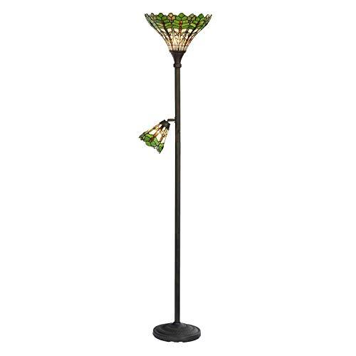 Lumilamp 5LL-5977 Stehlampe Tiffany Stil Ca. Ø 36 x 188 cm