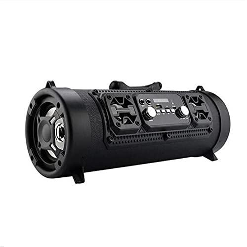 Wireless Bluetooth Speaker High-Power 15W Music Barrel Speaker Portable Waterproof High-Power Speaker Indoor Outdoor Loud Sound Music Playing Speakers (A)