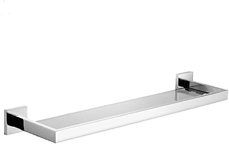 304 stainless steel bathroom glass shelves-@wei
