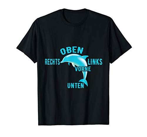 Lehr-T-Shirt Persönliche Assistenz, Motiv Delfin, Delphin