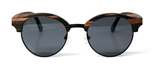 Óculos de Sol Parker II, Mafia Wood Exclusive Wear, Adulto Unissex, Marrom, M