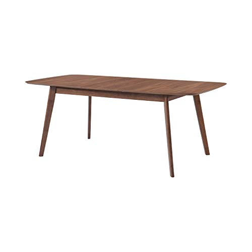 Coaster 106591-CO Dining Table, Natural Walnut