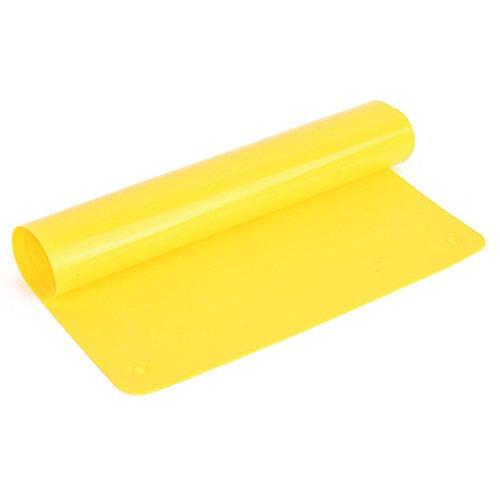 Flexible Silikon-Unterlage für Backofen & Pfannen, Antihaft, rutschsicher, auch als Tisch-Schutz oder Platzset geeignet gelb