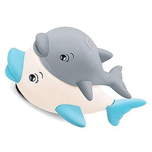 ZY123 Baby-Badespielzeug, Delphin-Wassersprühspielzeug Mit LED-Lichtmusik Für Kinder 6 Monate, 1, 2, 3,4...