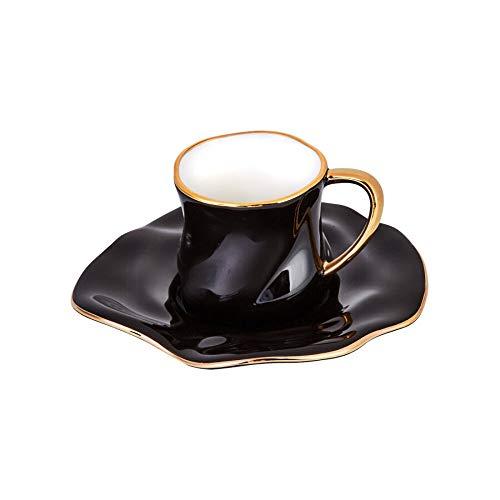 KARACA TEV SİYAH Taza de café para 2 personas KUTULU