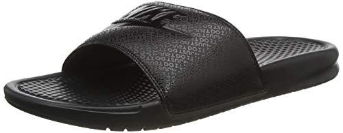 Nike Benassi Jdi, Herren Flip Flop, Schwarz (Black), 42.5 EU