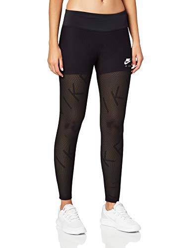 Nike Damen W NK 7_8 TGHT AIR MESH Sport Trousers, Black/(White), XS