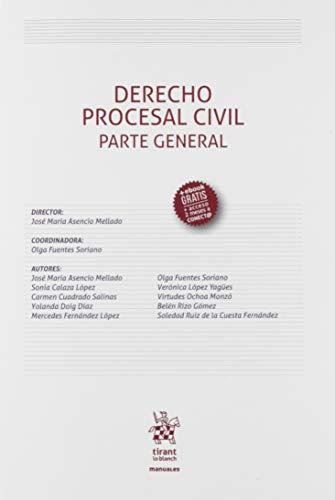 Derecho Procesal Civil Parte General: 1 (Manuales de Derecho Procesal)