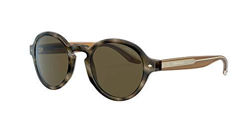 Armani Gafas de sol Giorgio AR8130 577573 Gafas de sol hombre color Marrón marrón tamaño de lente 49 mm