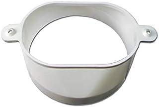Abluft-Adapter Oval/100erDurchmesser für Trockner-Abluftschlauch 00074816