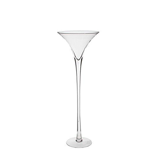 Mica decorations 1007041 Vase Martini, transparent