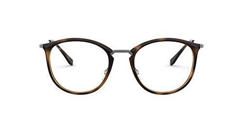 Ray-Ban Unisex-Erwachsene 0RX 7140 2012 49 Brillengestelle, Braun (Havana)