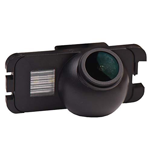 Telecamera di retromarcia aggiornata 1280 x 720p integrata in luce targa telecamera posteriore per Ford Ranger Fiesta/Kuga/S-Max C-Max/Mondeo/Focus II