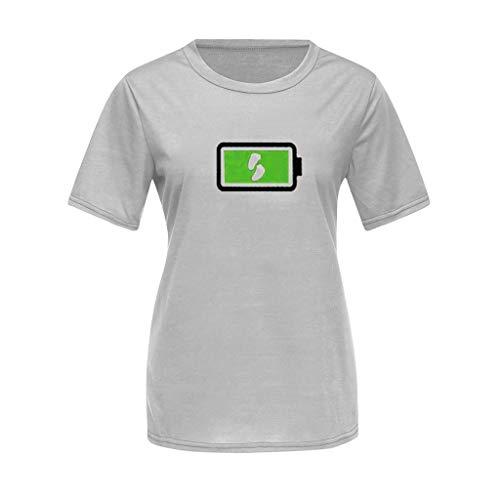 Berimaterry ❤️ T-Shirt Imprimé De Piles BéBé Maman Mode Familles Assemblage De VêTements Maman Et BéBé T-Shirt Mignon Puissant BéBé Papa-Ensemble PèRe BéBé Cadeau