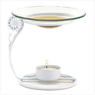 Dandelion Flower Scent Fragrance Oil Warmer Decanter