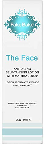 Fake Bake The Face Anti Aging Self Tanning Lotion, 2 oz