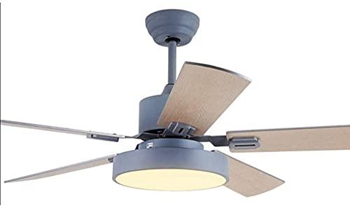 Ventilatore a soffitto silenzioso luce moderna del soffitto industriale della luce del soffitto industriale con kit di luce a led e telecomando silenzioso risparmio energetico risparmio energetico ris