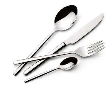 Idea cucina: Set 24 Posate LAGOSTINA Maia per 6 Persone INOX 18/10 Termoformato