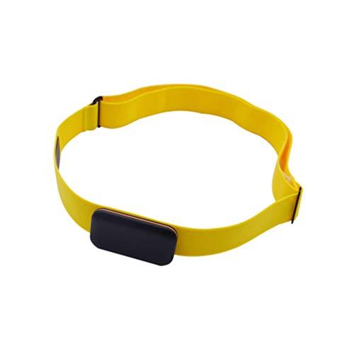LIOOBO Pulsmesser Brustgurt Gurtbänder Verstellbarer Brustgurt Brustgurt mit Schnalle zum Wandern Und Joggen in Zufälliger Farbe