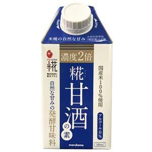 マルコメ プラス糀 糀甘酒の素 500ml紙パック×12本入×(2ケース)