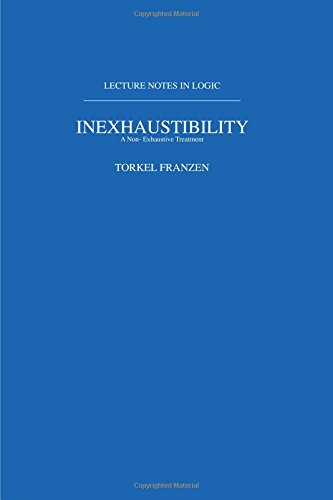 Inexhaustibility: A Non-Exhaustive Treatment (Lecture Notes in Logic, 16)