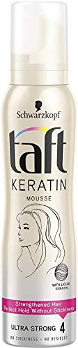 Glamorous Hub Schwarzkopf Professional Taft Keratin Mousse (150 ml) (el embalaje puede variar)