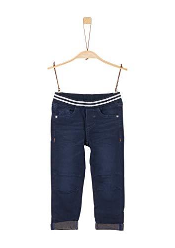 s.Oliver Jungen 63.909.71.3458 Jeans, Blau (Blue Denim Stretch 57z5), 122 (Herstellergröße: 122/REG)