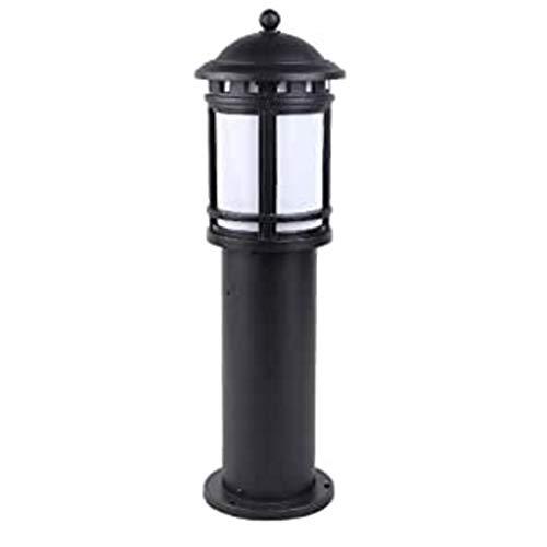 ZLMAY Estilo Rural de Aluminio Simple Columna Lámpara Impermeable al Aire Libre Cerca de la lámpara de la Calle Terraza Europeo del Paisaje residencial Patio E27