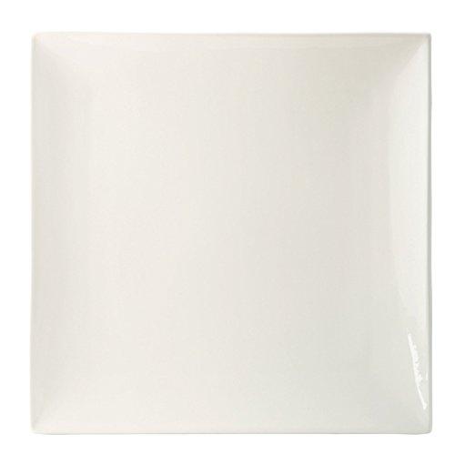 Utopia Anton Noir en porcelaine fine Z07038–000000-b01006 Fusion Assiette, 15,2 cm (lot de 6)