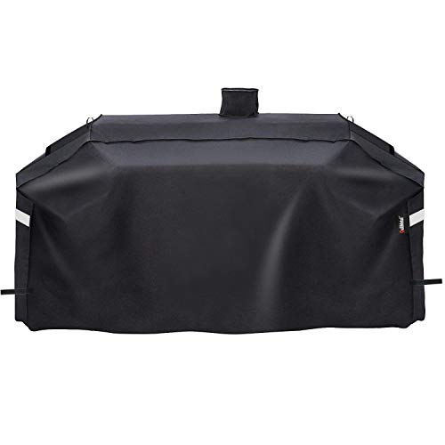 Uniflasy GC7000 Grill Cover for Smoke Hollow Gas/Charcoal Grill 4 in 1 Combo Grill PS9900 DG1100S and Pit Boss Memphis Ultimate Combo Grill, 79 Inch Heavy Duty and Waterproof Grill Cover