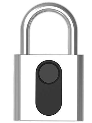 Candado para huellas dactilares con batería recargable/Cerradura de s