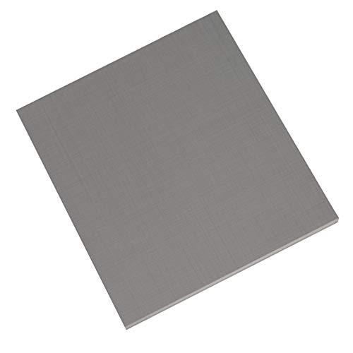 deine-tante-emma 002966 Einlegeboden ca. 43 x 50 cm GRAU klein für Sprint Kleiderschrank und Stauraumschränke inkl. Bodenträger