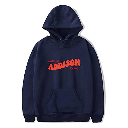 BBCS Addison RAE Hoodies Hombres Sudaderas Mujer Ropa De Moda Harajuku Hoodie Niños Niñas Addison RAE Hoody Niños Ropa De Gran Tamaño