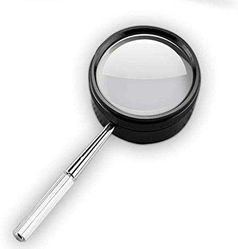 Lupa 55 mm de diámetro de Vidrio portátil HD 30 Veces Lectura Antigua Reparación de teléfonos móviles de Cristal extendido Accesorios Herramientas de Hardware