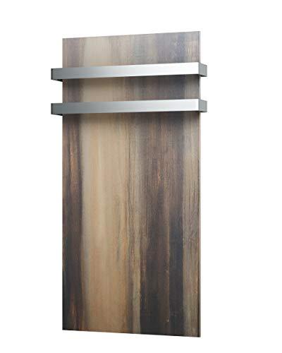 fenix Handtuchhalter zweifach für Infrarotheizung, für Ecosun GS/Natural, Handtuchstange für Badheizung, 5437852, Metall, One Size