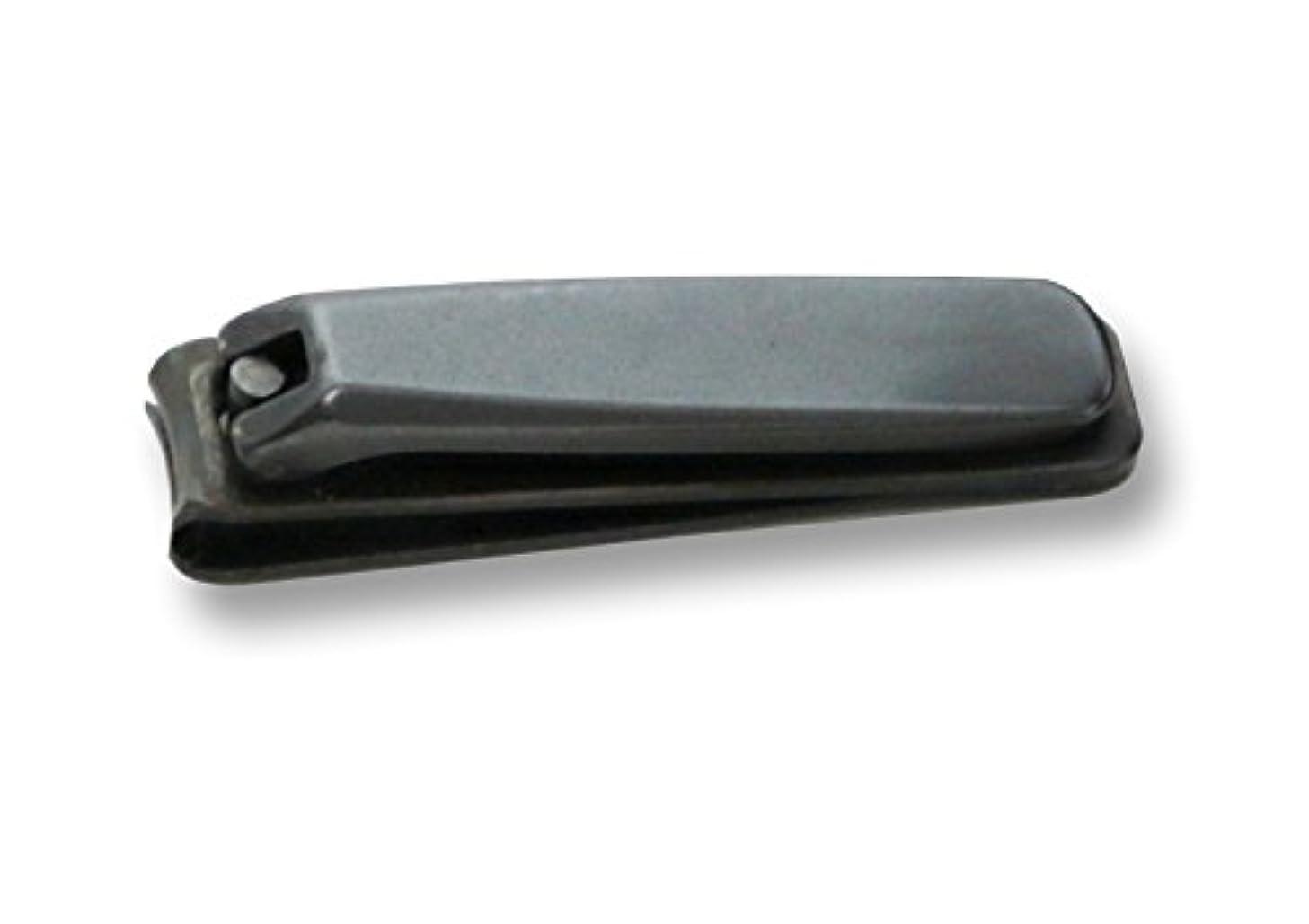 人生を作るトレイファーザーファージュKD-026 関の刃物 ブラック爪切 大 カバー付