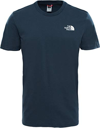 The North Face M S/S Simple Dome Te T-Shirt, Uomo, Blue Wing Teal, S