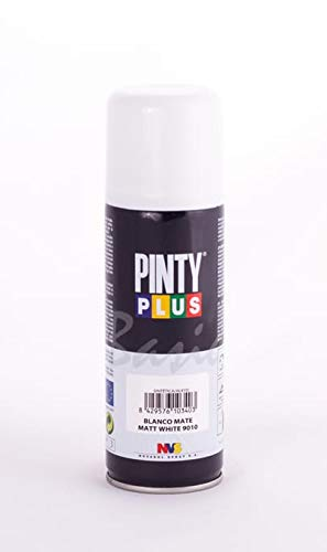 Evolution pinty p. M123014 - Pintura spray acrilica 520 cc blanco mate
