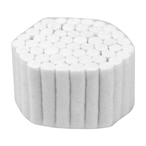 Healifty 5 Stück Zahnärztliche Watterollen aus Natürlicher Baumwolle mit Hohem Saugvermögen für Kinder Und Erwachsene